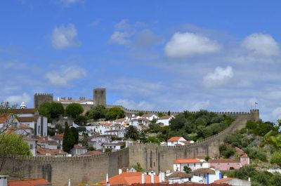 Óbidos from the distance - Óbidos
