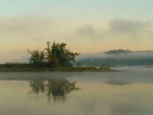 Early Morning at Saint John's River - Fredericton