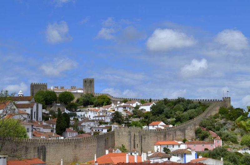 Óbidos from the distance - Óbidos