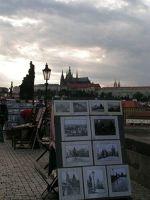 View from Charles Bridge - Prague