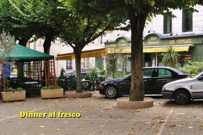Les Tuffeaux Restaurant in Montrichard