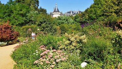 Château Chaumont from the Garden