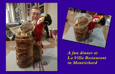 La Villa Restaurant in Montrichard - dessert