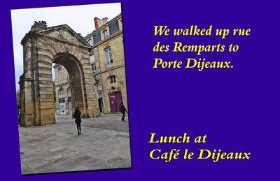 Porte Dijeaux in Bordeaux