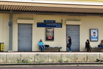Fontainebleau-Avon Train Station