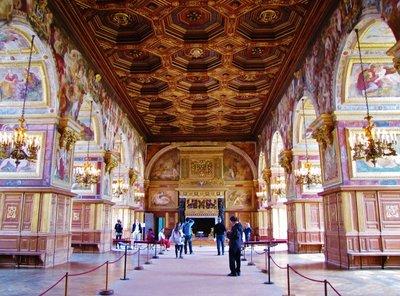 Francis I Gallery at Château de Fontainebleau