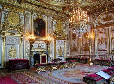 Interior at Château de Fontainebleau