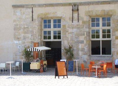 The tea room at Château de Fontainebleau