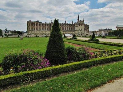 Château de Saint-Germain-en-Laye from the Gardens