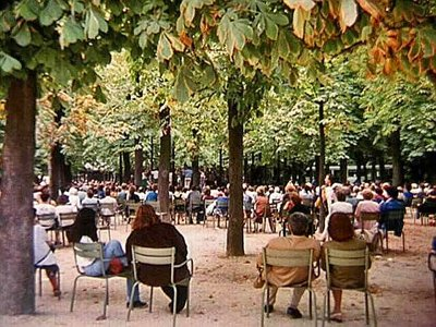 A Concert in the Luxembourg Gardens