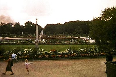 Smoke in the Distance - Luxembourg Gardens
