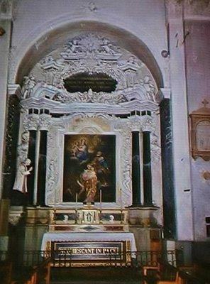 Saint Nicolas de Myre, side altar