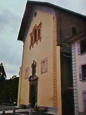 Eglise Saint Nicolas de Myre in Jausiers