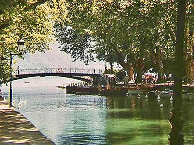 Pont des Amours in Annecy
