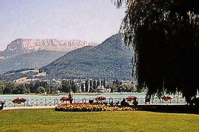 Jardins de l'Europe (Gardens of Europe) in Annecy