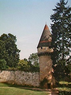 The Fabry tower at Cluny