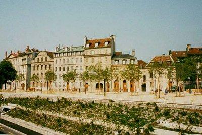 Promenade Saint Antoine in Geneva