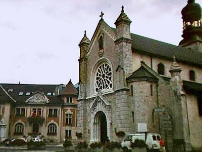 Église Saint Maurice in Thônes