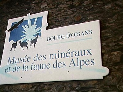 Small museum in Bourg-d'Oisans