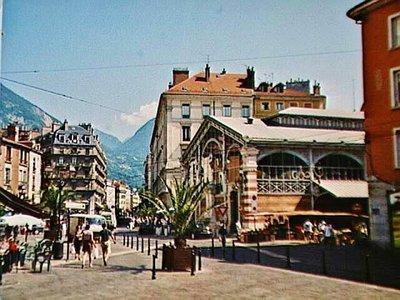 Les Halles at Place Sainte-Claire in Grenoble