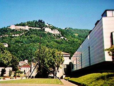 Fort de la Bastille above the Beaux Arts Museum