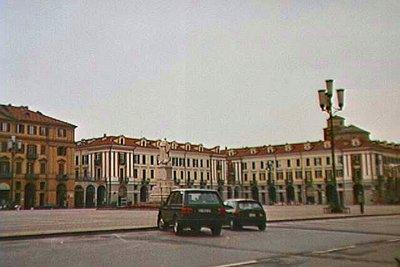 Piazza Galimberti in Cuneo, Italy
