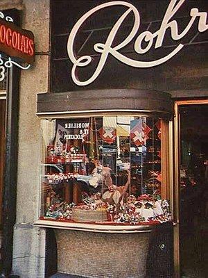 Rohr Chocolate Shop in Geneva