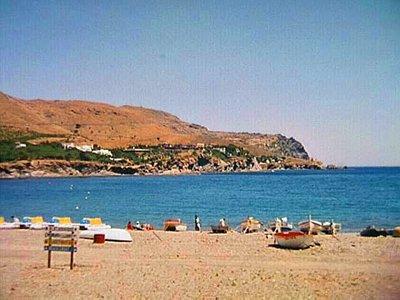 Beach at Colera, Spain