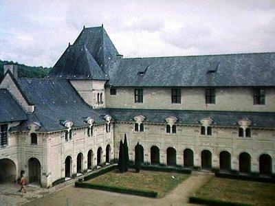 Cloisters of Abbaye Royale de Fontevraud