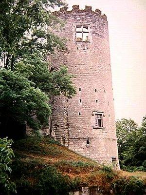 The Castle Keep at Château de Cinq-Mars