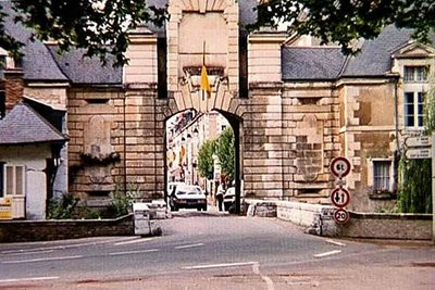 One of the four city gates into Richelieu