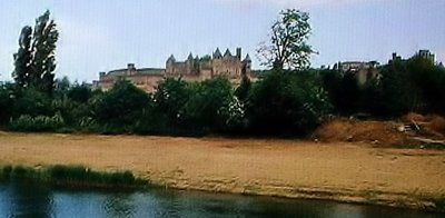 La Cité - Carcassonne from the Aude River