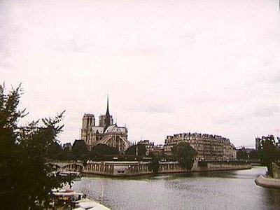 Cathedral Notre Dame de Paris, our first view