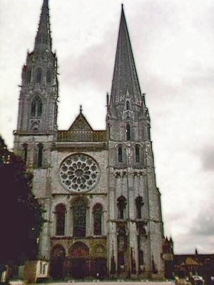 Cathedral Notre Dame in Chartres
