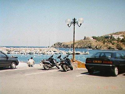 Harbor at Cerbère back in France