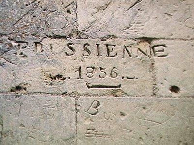Very old graffiti in Château de Cinq-Mars