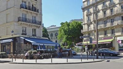 Café St. Victor on rue St. Victor
