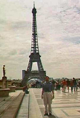 The Eiffel Tower from the Trocadero - Paris