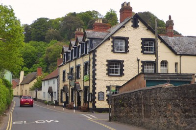 The Foresters Arms on West Street, Dunster