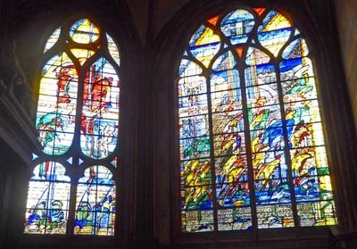 Église Saint-Gervais-et-Saint-Protais - Stained Glass by Sylvie Gaudin