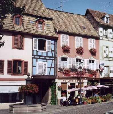 Downtown Barr in Alsace