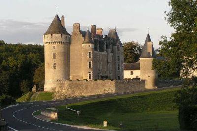 Château de Montpoupon in the Loire Valley