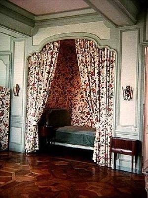 Chateau bed chamber - Villandry