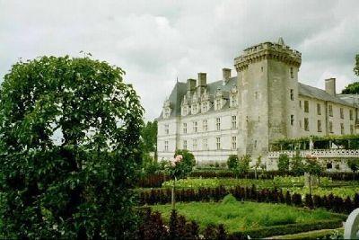 Château Villandry from the garden