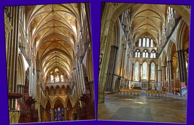 Interior of Salisbury Cathedral