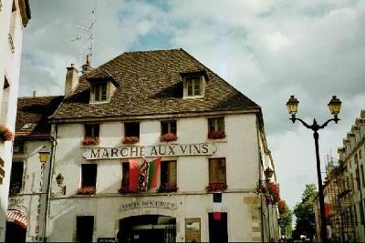 Marché aux Vins, the wine market in Beaune