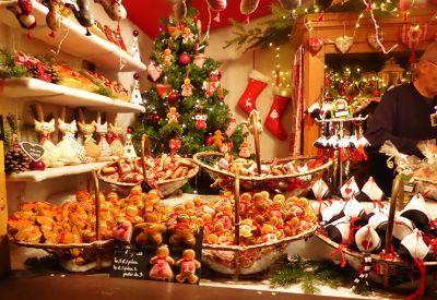 Christmas Market by the Strasbourg train station - Strasbourg