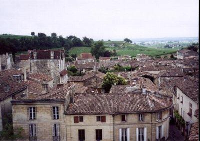 St. Emilion near Bordeaux
