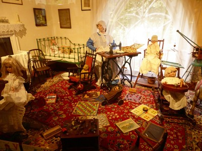 Home interior - Beck Isle Museum