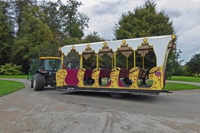Little Shuttle Train at Castle Howard